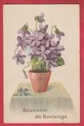 Roclenge - Souvenir De ... Jolie Carte Fantaise En Relief Au Verso ( Voir Verso ) - Bassenge