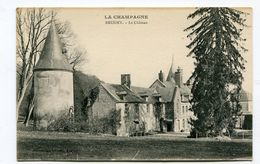 CPA 51 : BRUGNY  LE  Château     A  VOIR  !!!!!!! - Other Municipalities