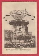 Manége, Carrousel De Foire - Rakettoren ... Attraction Unique En Europe ( Voir Verso ) - Ferias