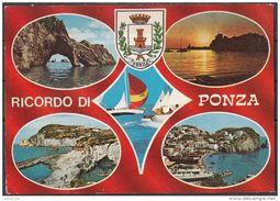 Latina - Isola Di Ponza - Ricordo Di Ponza - Sei Dettagli - Latina
