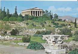 GRECIA - ATENE - IL TEMPIO DI EFASTO - VIAGGIATA 1971 - Grecia