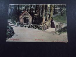 Postcard Ansichtkaart Briefkaart Netherlands Grot Oorsprong Oosterbeek Grootrond Barneveld 1906 - Zonder Classificatie