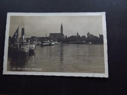 Postcard Postkarte Switzerland Schweiz Suisse Filbahnhof Romanshorn Hafenpartie Hafen Harbour 1926 - Cartes Postales