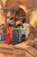CPA CARTE LITHO SCENE DE VIE RELIGION PFB 7064 LITHO CARD SCENE OF LIFE RELIGION - Christianisme