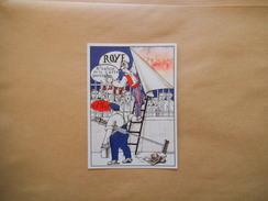 ROYE 6e SALON DE LA CARTE POSTALE 8 JANVIER 1989 ILLUSTRATION DE JOËLLE TARDIEU - Bourses & Salons De Collections