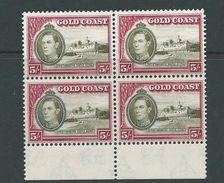 Gold Coast Mnh Block Of 4 George V1 Sg131 - Gold Coast (...-1957)