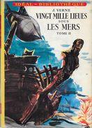 """""""Vingt Mille Lieues Sous Les Mers""""--T2- Jules VERNE-Hachette 1958-TBE - Ideal Bibliotheque"""