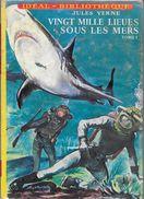 """""""Vingt Mille Lieues Sous Les Mers""""--T1- Jules VERNE-Hachette-1959-TBE - Ideal Bibliotheque"""