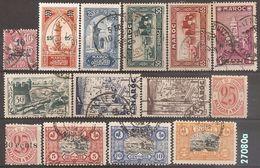 MAROC - LOT DE 40 TIMBRES (o) - * - ** - Marruecos (1891-1956)