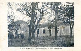 47 - Le Mont-Clar  - Ecole Des Garcons - Autres Communes