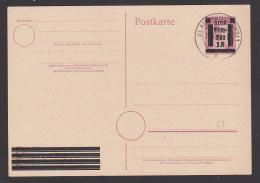 Glauchau Sachsen Während Der Amerikanischen BesetzungGA-Karte 15 Auf 6 Pf. Lokalausgabe - Zone Soviétique