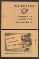 Markenheftchen Postfrisch MG 3b1, Mit Allen Blättern Und Werbung U.a. Küchenabfälle, Denke An Jolante - [6] Democratic Republic