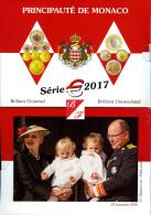2017 MONACO KMS OFFIZIELLE 8 MUNZEN 2 EURO - 1 CT 8000 AUFLAGE UNDER BLISTER - Autres