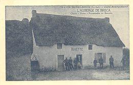 """SAINT-LYPHARD - Café, Restaurant """" L'Auberge De BRECA """" - Brière - Carte Publicitaire, Retirage - Saint-Lyphard"""