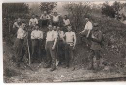 SUISSE POSTCARD CP TRES ANIMEE MILITAIRES WW2 CASERNES YVERDON VAUD  COLOMBIER NEUCHATEL J ROSSI & FILS PHOTOGRAPHIE - VD Vaud