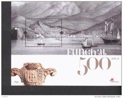 Madeira Block 39 + 40 500 Jahre Funschal MNH **  Postfrisch - Madeira