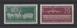 ALLEMAGNE ORIENTALE . YT 377/378 Neuf **  Journée Du Timbre 1958 - DDR