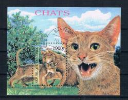 Kongo 1999 Katzen Block Gest. - Congo - Brazzaville
