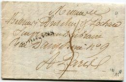 ALLIER De MOULINS LAC Du 03/06/1826 Avec Linéaire 35x11  Bel En Tête ( 2 Scans) - 1801-1848: Precursors XIX