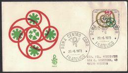TH64    FDC  Italia 1973 Venetia  PROVVEDITORATO GENERALE DELLO STATO - 6. 1946-.. Republic
