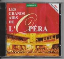CD Les Grands Airs De L'opéra - Opéra & Opérette