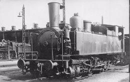 """¤¤  -  Carte-Photo D'une Locomotive """" 4968 """" Du NORD Dans Une Gare  -  Chemin De Fer   -  ¤¤ - Eisenbahnen"""