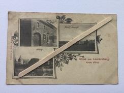 """5100 AACHEN -LAURENSBERG"""" Restaurant BEYS,BURG,TOTAL ANSICHE (nº 211) 1900. - Aken"""