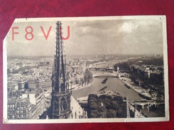 75 PARIS Boulevard Poniatowski QTH QSL Radio Amateur - Frankrijk