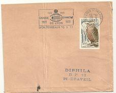 RHONE - Dépt N° 69 = LYON TERREAUX (1er ARR)  1972 = FLAMME  SECAP Illustrée ' CAISSE EPARGNE /1822 / 150 ANS ' - Marcophilie (Lettres)