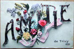 71  TRIVY AMITIES CARTE ILLUSTREE - France