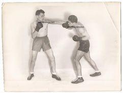 GRANDE PHOTO DES BOXEUR Enrico Urbinati Et Pierre Louis - Boxing