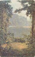 Themes Div -ref T654 - Arts - Tableaux - Peinture - Peintre H Biva - Brumes   - Imp Lapina Paris - - Paintings