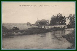 CPA La Pommeraie La Sévre Nantaise Pont / N° 360 1938 TB Scan Verso - France