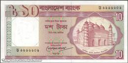 TWN - BANGLADESH 26c2 - 10 Taka 1993 Various Prefixes UNC - Bangladesh