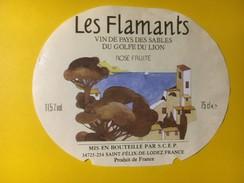 4399 - Les Flamants Vin De Pays Des Sables Du Golf Du Lion - Rosés