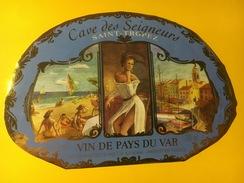 4410 - Cave Des Seigneurs Saint-Tropez Vin De Pays Du Var - Art