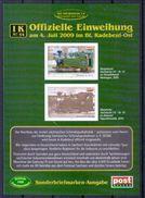 Deutschland PostModern Block 'Nachbau Sächsische I K Lok' / Germany M/s 'Replica Of Saxonian I K Loco' **/MNH 2009 - Eisenbahnen