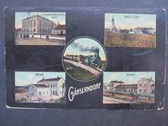 AK GÄNSERNDORF Bahnhof Lokomotive 1911 //// D*25549 - Gänserndorf