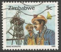 Zimbabwe. 1995 Zimbabwe Culture. 5c Used. SG 892 - Zimbabwe (1980-...)