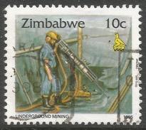 Zimbabwe. 1995 Zimbabwe Culture. 10c Used. SG 893 - Zimbabwe (1980-...)