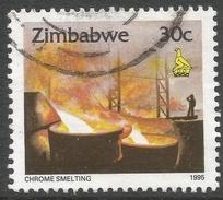 Zimbabwe. 1995 Zimbabwe Culture. 30c Used. SG 895 - Zimbabwe (1980-...)