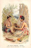 ¤¤  -   Carte Publicitaire     -  Les Race Humaines  -  OCEANIE  - Jeunes Filles De L'Archipel De TONGA  -  ¤¤ - Tonga