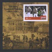 Deutschland PostModern Bl. 'Brand Semper-Oper 1869' / Germany M/s 'Conflagration Of Semper Opera House 1869' **/MNH 2013 - Feuerwehr