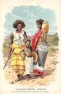 ¤¤  -   Carte Publicitaire     -  Les Race Humaines  -  ETHIOPIE  -  ABYSSINIE  -  Jeunes Femme De La Province Du Harrar - Ethiopie