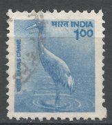India 2000. Scott #1822 (U) Sarus Crane, Grue, Oiseau - Inde