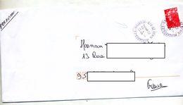 Lettre Cachet Saint Denis Messagerie Reunion - Marcofilie (Brieven)