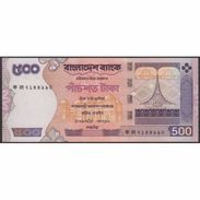 TWN - BANGLADESH 45c - 500 Taka 2005 Various Prefixes - Pin Holes UNC - Bangladesh