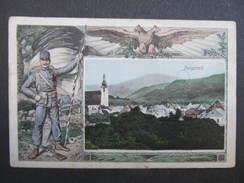 AK PURGSTALL A.d.Erlauf B. Scheibbs 1912 Collage  //// D*25559 - Purgstall An Der Erlauf