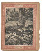 Kangourou Casoar Protège-cahier Couverture De Cahier Corbeil Crété Fin XIX  Didactique Au Dos. Etat Moyen Mais RR. - Animals