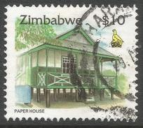 Zimbabwe. 1995 Zimbabwe Culture. $10 Used. SG 903 - Zimbabwe (1980-...)